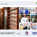 offres d'emploi facebook