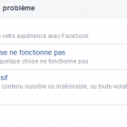 probleme facebook