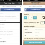 """Un Bouton Facebook """"Autofill Your Info"""" pour Faciliter le Paiement Mobile"""