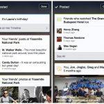 Facebook Teste ses Context Cards