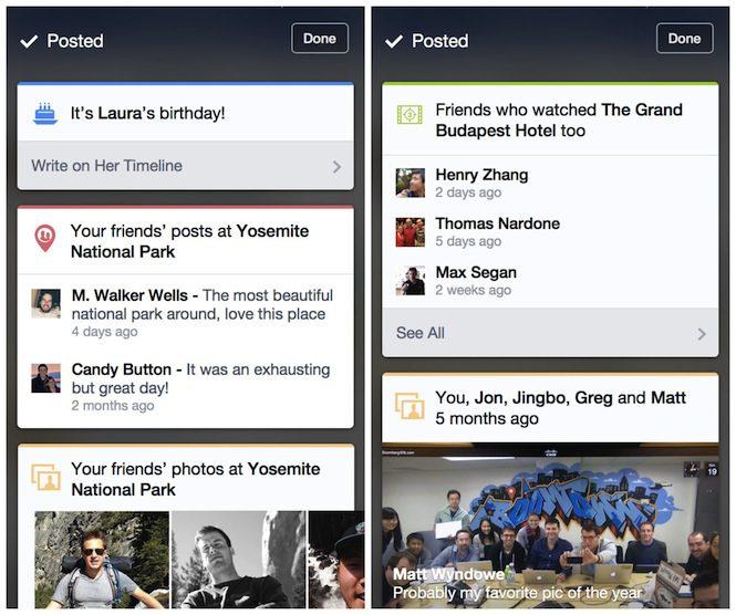 context cards facebook