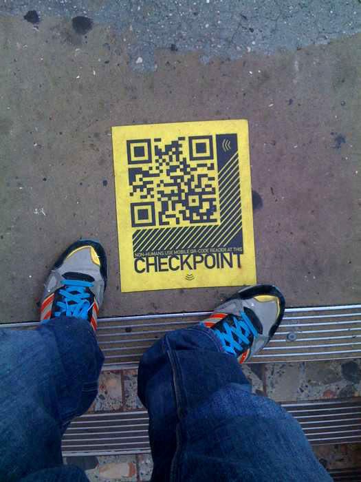 guerilla marketing qr code
