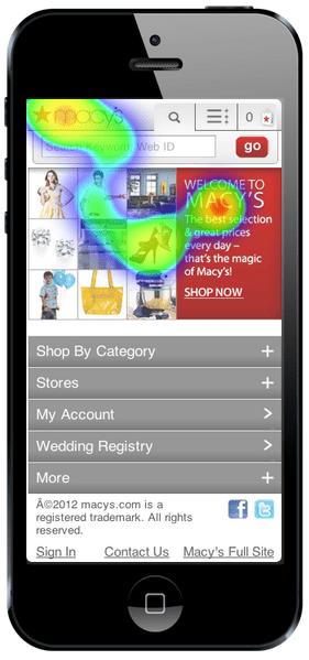 heatmap application mobile