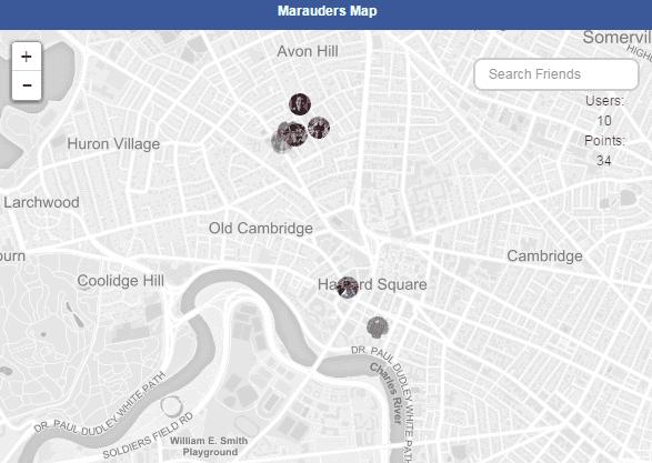 marauder map