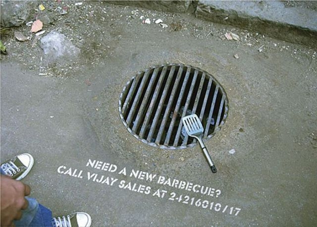 street marketing tag