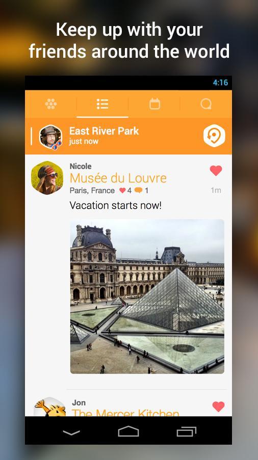 swarm application foursquare