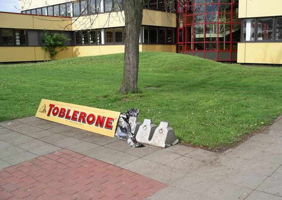 toblerone street marketing