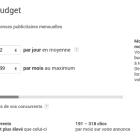 budget publicité locale
