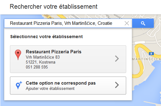 google maps référencer