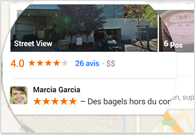 google publicité notes