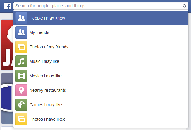 graph search facebook