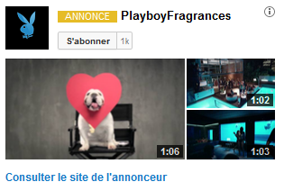 publicité youtube