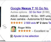 recommandations partagées google
