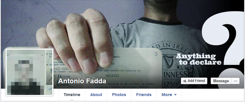 antonio fadda facebook profile picture
