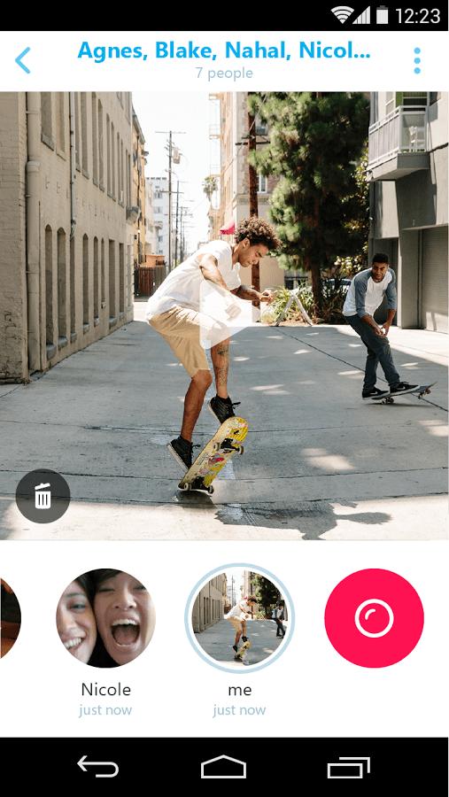 application skype qik
