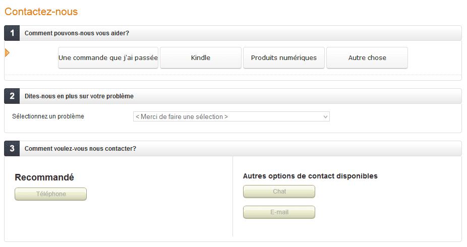Contacter Amazon Emails Numeros Et Adresses Mis A Jour