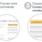contacter un vendeur Amazon