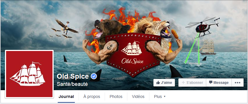 couverture facebook old spice