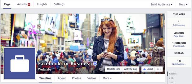 nouvelles pages facebook