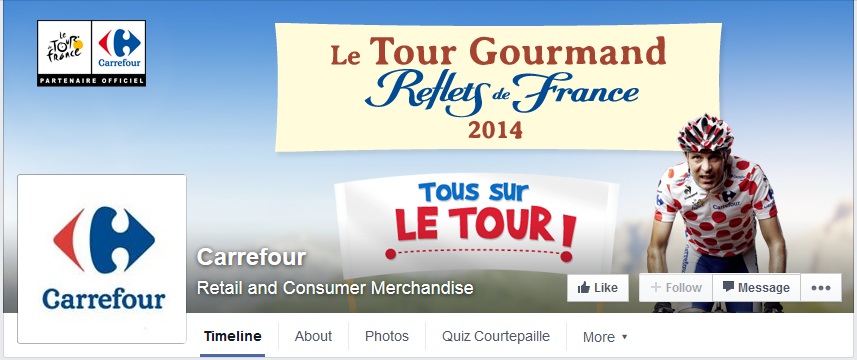 photo couverture facebook carrefour