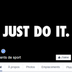 photo couverture facebook nike