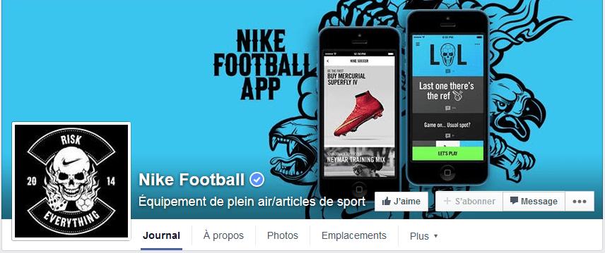 photo facebook nike football