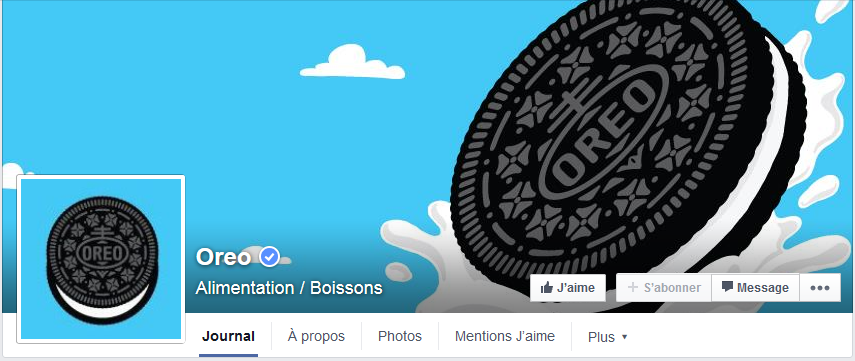photo couverture facebook oreo