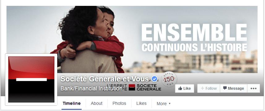 photo couverture facebook societe generale