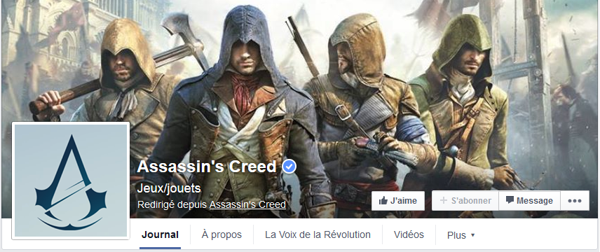 photo facebook assasin creed