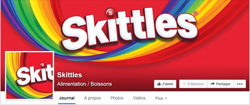 photo facebook skittles