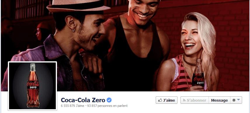 photo page facebook coca-cola