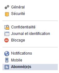 activer les abonnés facebook