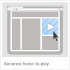 annonce hover to play