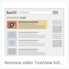annonce vidéo trueview instream