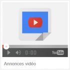 annonces video youtube