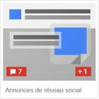 annonces de réseau social-google