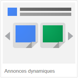 annonces dynamiques google