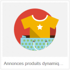 annonces produits dynamiques annonces illustrées