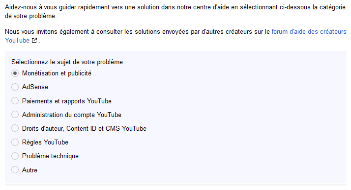 assistance youtube