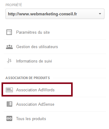 association adwords