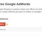 associer google adwords avec google merchant