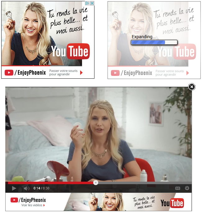 banniere video youtube