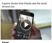 campagne facebook mobile