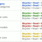 catégories de produits google shopping