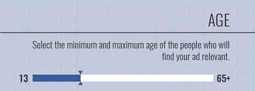 ciblage âge