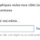 ciblage campagne shopping sur google adwords