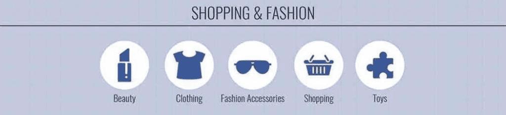 ciblage shopping mode