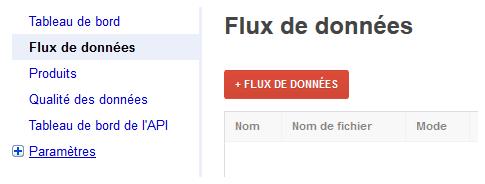 configurer flux données google shopping