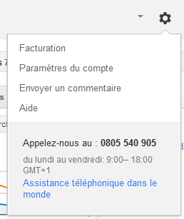 contact adwords