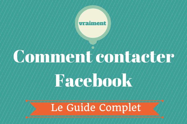 Contacter Facebook